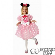 Costum carnaval Minnie Mouse roz