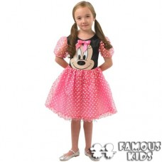Costum carnaval Rochita roz Minnie