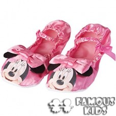 Pantofiori Minnie Mouse roz