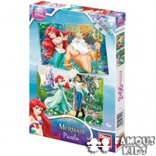 Puzzle 2 in 1 Ariel 66 piese