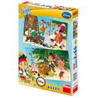 Puzzle 2 in 1 Jake si piratii 66 piese