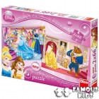 Puzzle 2 in 1 Printese 66 piese