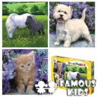 Puzzle 3 in 1 Animale 55 piese