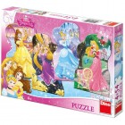 Puzzle 4 in 1 Printese jucause 54 piese