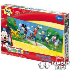 Puzzle Clubul lui Mickey Mouse In parc 150 piese