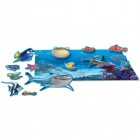 Puzzle magnetic Nemo 17 piese