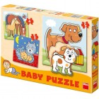 Puzzle set Animale 3-5 piese