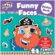 Carte cu abtibilduri Funny Faces