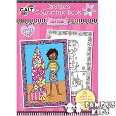 Carte de colorat Fashion