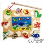 Puzzle incastru magnetic - Animale marine