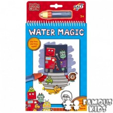 Water Magic - Carte de colorat Roboti