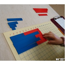Montessori Adunare - Addition Strip Board